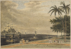 View of Calcutta from the Garden Reach